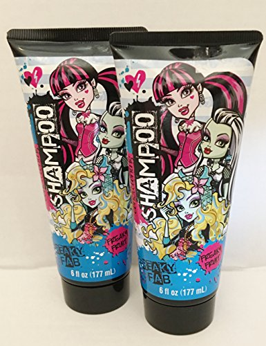 Monster High Conditioning Shampoo ~ Freaky Fruit ~ 6 oz ~ set of 2