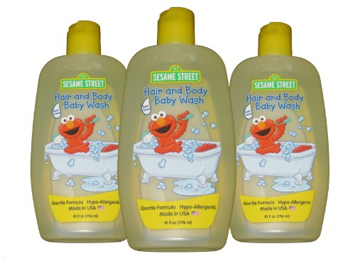 Sesame Street Hypo-allergenic Hair and Body Baby Wash
