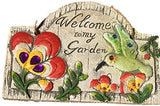 Concrete Decorative stone for Garden with Saying (HUMMING BIRD)