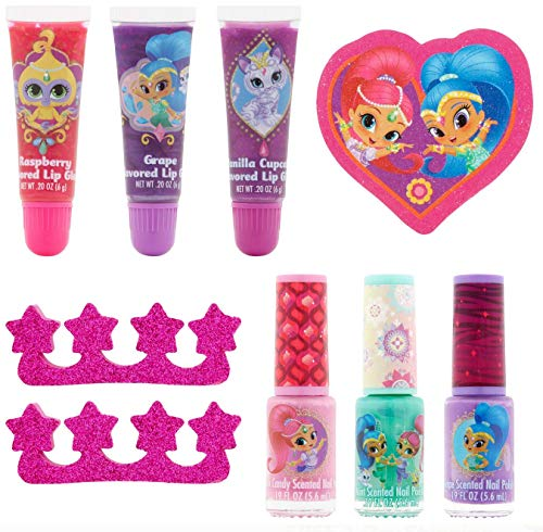 Nickelodeon Shimmer and Shine Beauty Set!, 10 pcs
