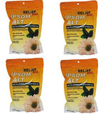 Relief Green Tea and Chamomile Epsom Salt, Pack of 4