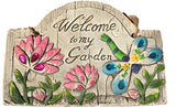 Concrete Wall Plaques for Garden With Sayings Dragonfly