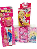 Barbie 3-piece Set Includes 6-pack of Tissues, 20-ct Bandages, Toothbrush and Toothpaste