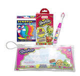 Shopkins Oral Care Travel kit with Flossers and Bandages Bundle!