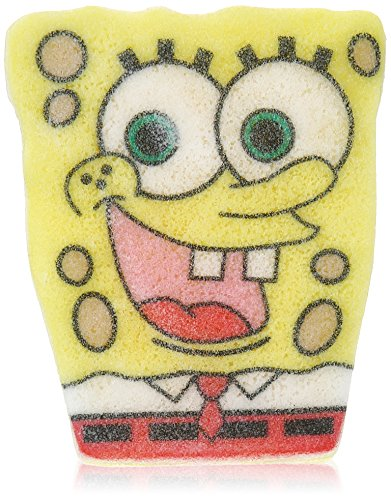 Spongeables SpongeBob Shower Product, Square Pants, 3 Ounce