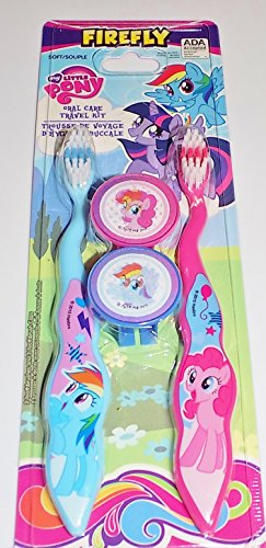 FireFly My Little Pony Oral Care Travel Kit (Soft)