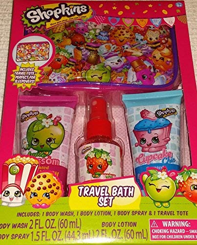 Shopkins Travel Bath Set with Tote