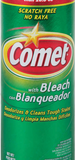 Comet Multi-Surface Spray Cleaner, Meadow Fresh, Comet Disinfectant Cleanser and Comet Classic Home Cleaners Toilet Bowl Cleaner (3)