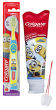 Minions Kevin, Stuart, Bob Colgate Toothpaste and Toothbrush Set