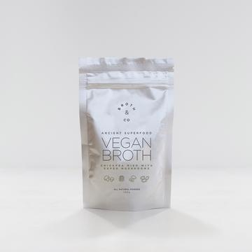 Broth & Co - Vegan Vitality Broth with Super Mushrooms - Powder 100g (20 serves)