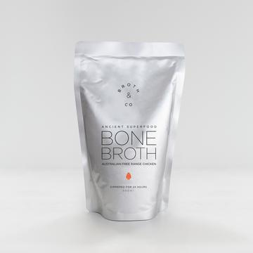 Broth & Co - Free Range Chicken Bone Broth -  500ml Pouch x 1