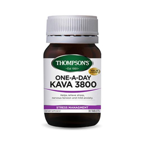 Thompson's - One-A-Day Kava 3800mg 30t
