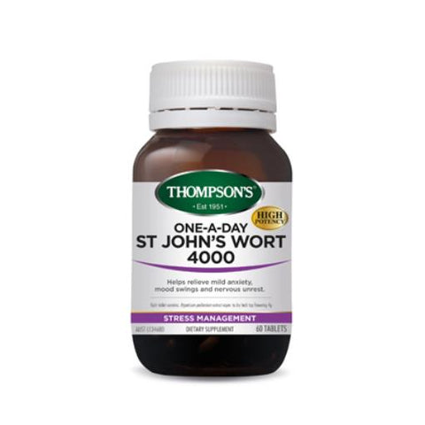 Thompson's - One-A-Day St. John's Wort 4000mg 60t