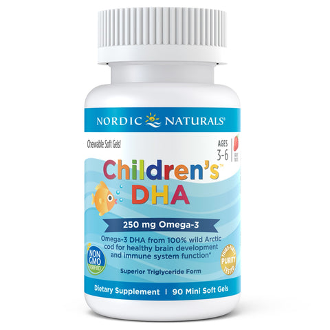 Nordic Naturals - Childrens DHA 90 chewable caps