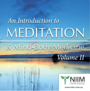 NIIM Dispensary - An introduction to Meditation CD volume 2
