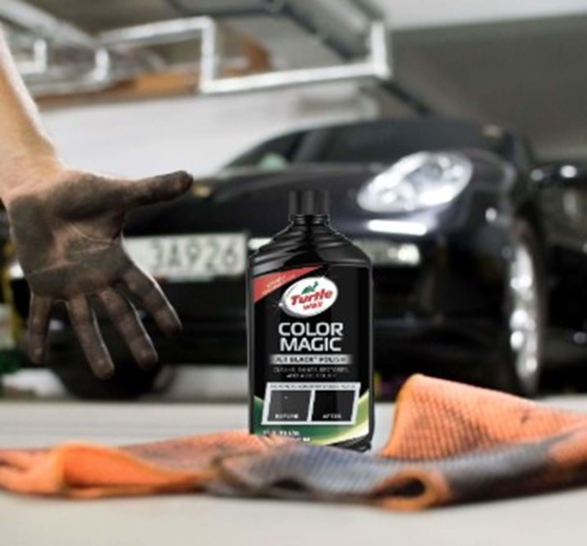 turtle wax color magic black product shot from 2018 shoot