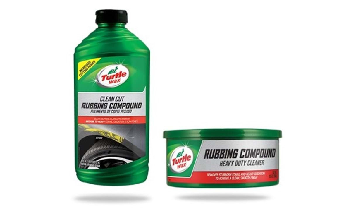 turtle wax us rubbing compounds for removal of stubborn scratches and car paintwork imperfections