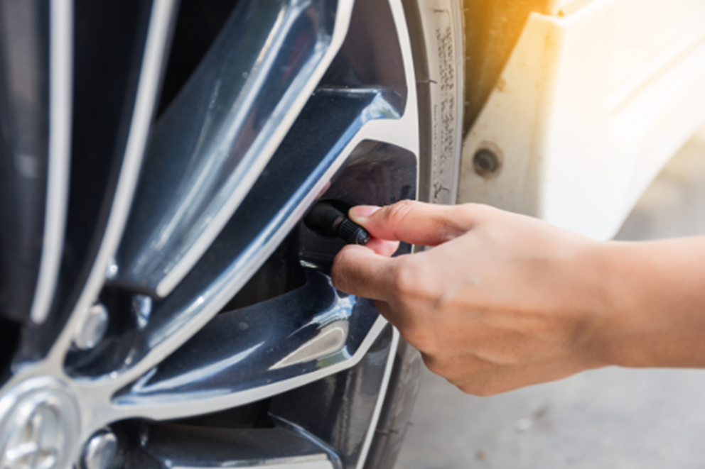 how-to check tire pressure find tire valve turtle wax
