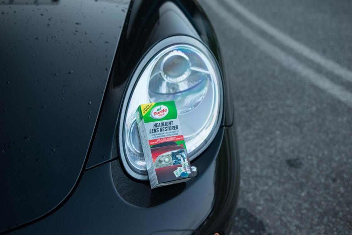 how to prep your car for winter - turtle wax - headlight check restore