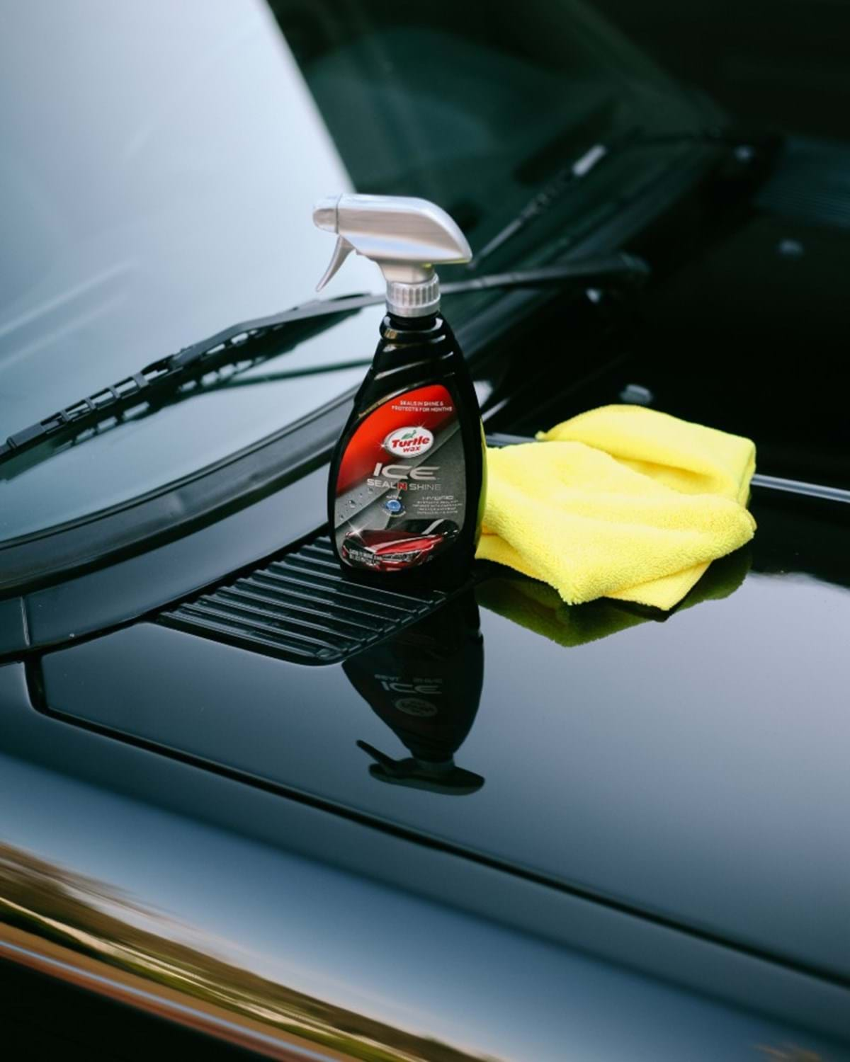 auto detailing guide - turtle wax - ice seal & shine