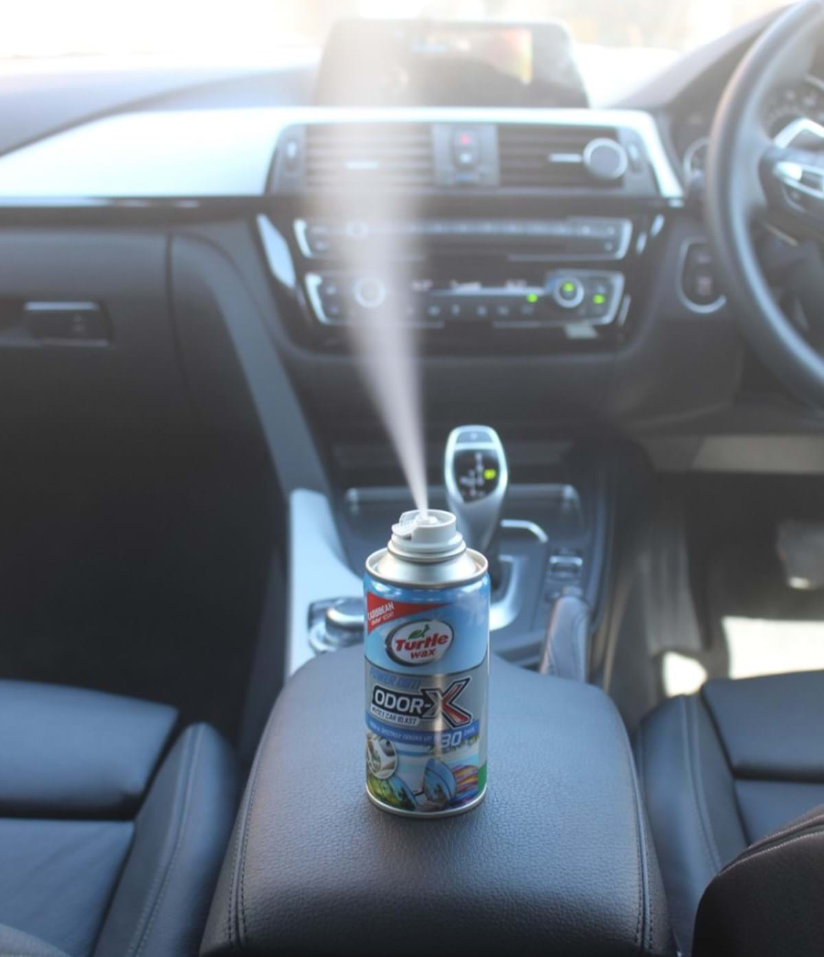 auto detailing guide - turtle wax - interior detailing odor removal