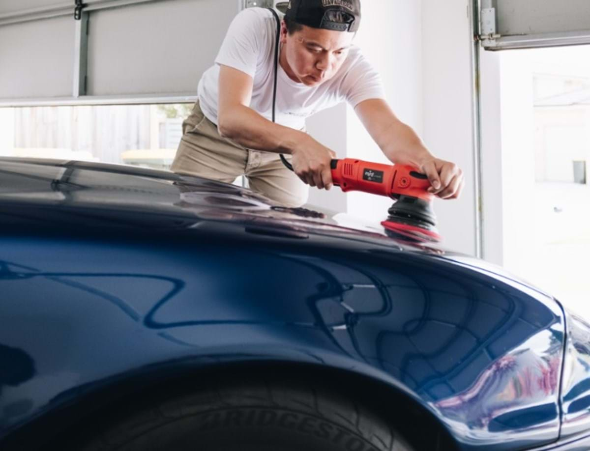 how-to compound a car at home - turtle wax - polishing vs rubbing