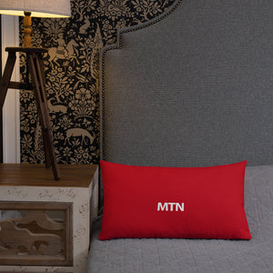 """MTN"" Throw Pillow"