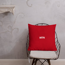 "Load image into Gallery viewer, ""MTN"" Throw Pillow"