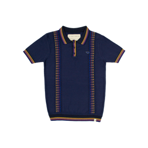 Playera Polo - Azul