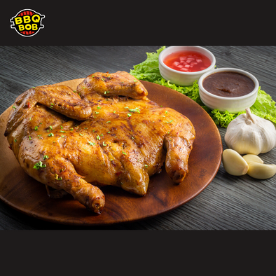 BBQ Whole Chicken with Special Sarsa