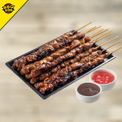 BBQ Chicken Yakitori Xtra Long with Special Sarsa