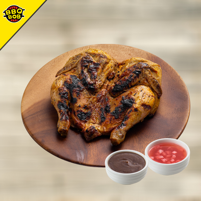 BBQ Whole Chicken Inasal with Special Sarsa
