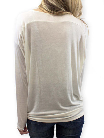 French Vanilla Long Sleeve Tee