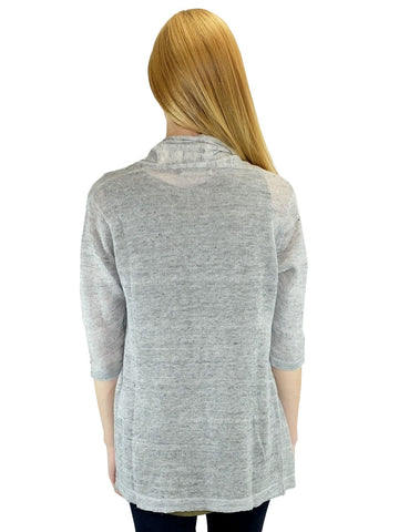 Relished Grey Candace Cardigan w/o Pockets