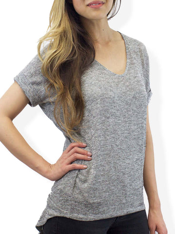 Grey Coffeehouse Sweater Tee