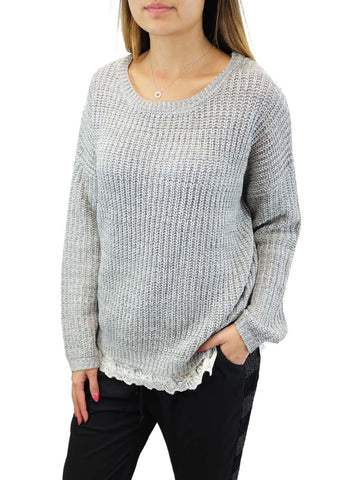 Blu Pepper Heather Lane Sweater