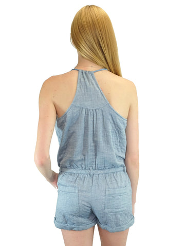 Relished Marais Marche Blue Romper