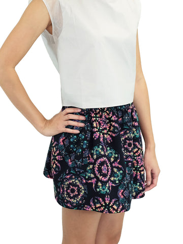 Relished Cyndi Floral skirt