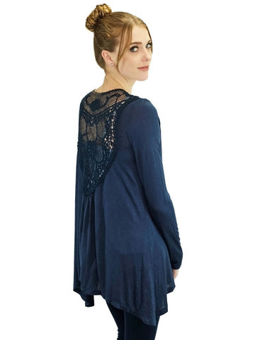 Relished Dreamcatcher Cardigan Navy