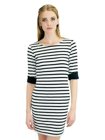 Relished Parisienne Chic Striped Dress