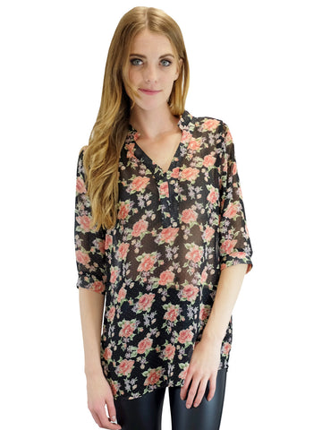 Relished Farrow Floral Blouse
