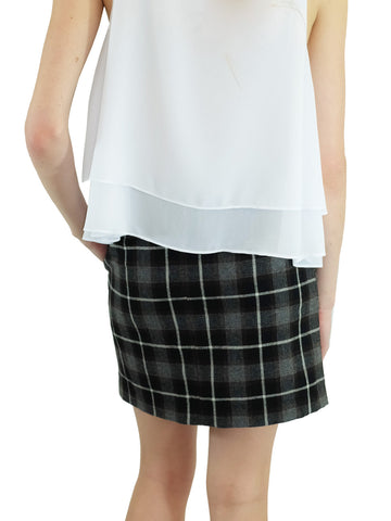 Relished All That Plaid Skirt