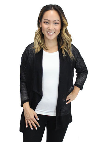 Relished Black Candace Cardigan w/o Pockets