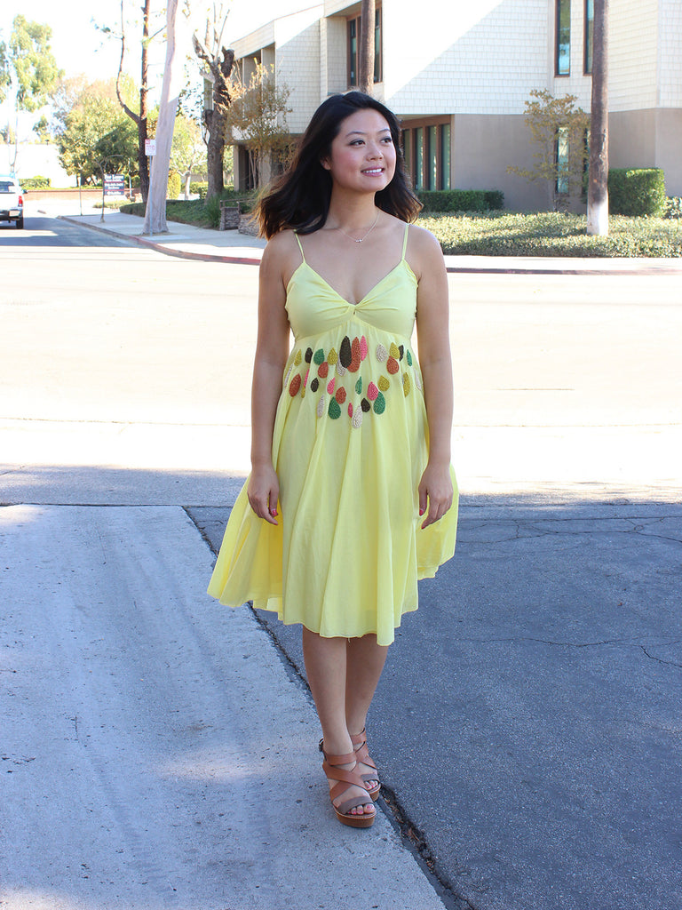 Beaded Sundrops Dress