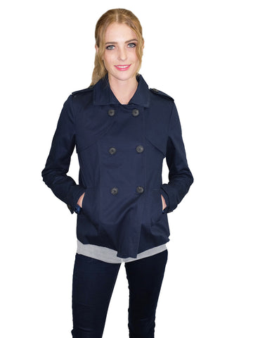 Relished Navy Peacoat