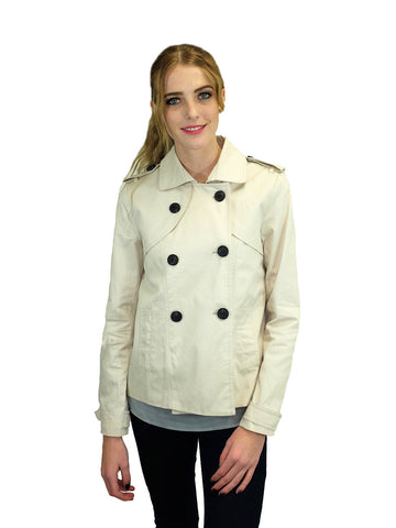 Relished Beige Peacoat