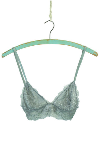 Pewter Grey Lace Bralette