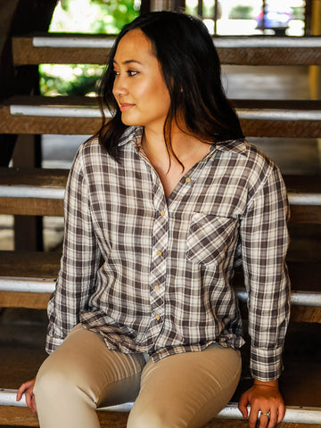 Relished Browning Plaid Button Up