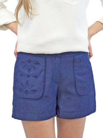 Navy Forever Faithful Shorts