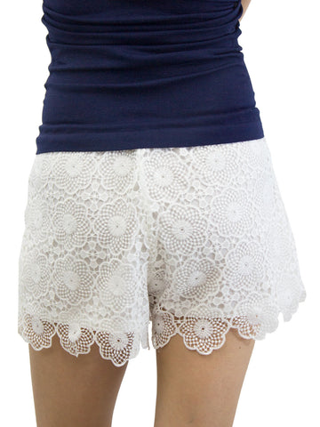 Scalloped Lacewing Shorts
